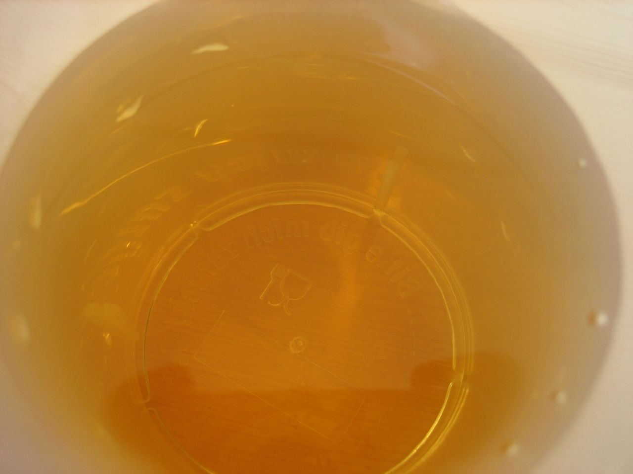 A golden glass of mead