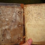 Medieval book from Yale Law Library