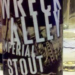 label for Wreck Alley Imperial Stout