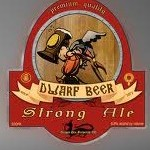Dragon Den Dwarf beer label