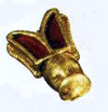 Golden bee from Childeric's tomb