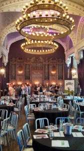The view, speaking on U.S. Beer Blogging: a vast and ancient hall that was the site for EBBC13