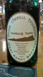 Carraig dubh beer label
